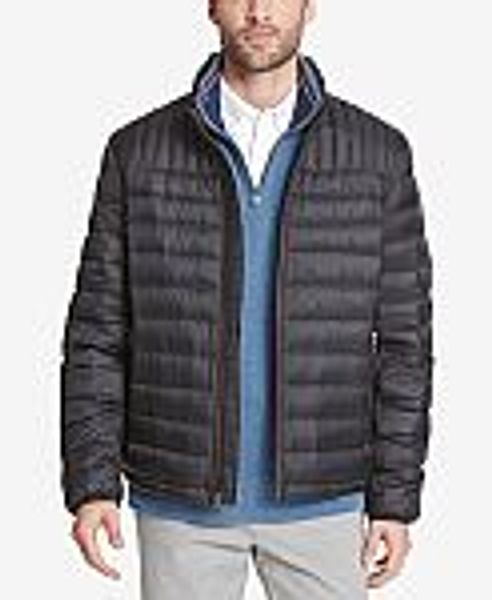 Tommy Hilfiger Men's Down Quilted Packable Jacket