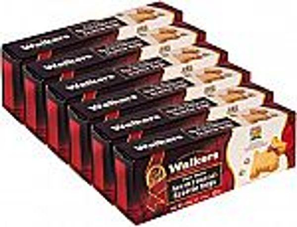 6-Pk 3.9-oz Walkers Shortbread Pure Butter Scottie Dogs Cookies @Walmart