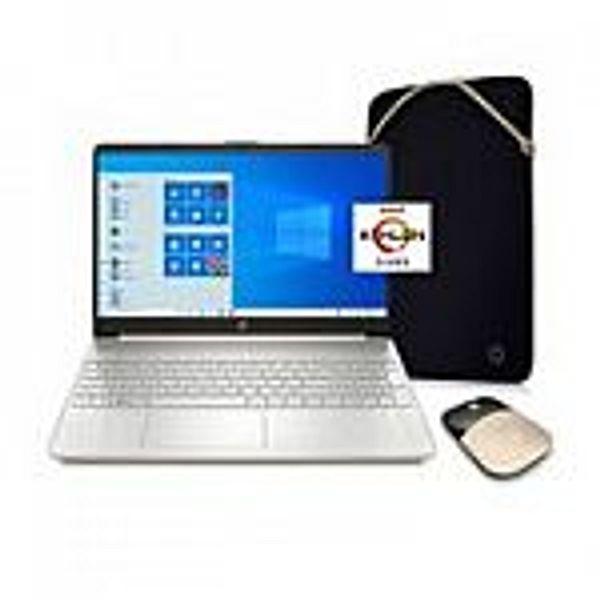 """HP 15.6"""" 15-ef1072wm HD Laptop (Athlon N3050 4GB 128GB) Gold"""
