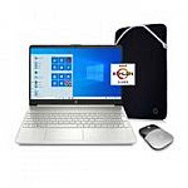 """HP 15.6"""" 15-ef1071wm HD Laptop (Athlon N3050 4GB 128GB) Silver"""