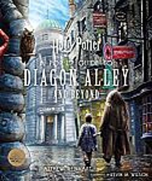 Harry Potter: A Pop-Up Guide to Diagon Alley and Beyond Hardcover Book