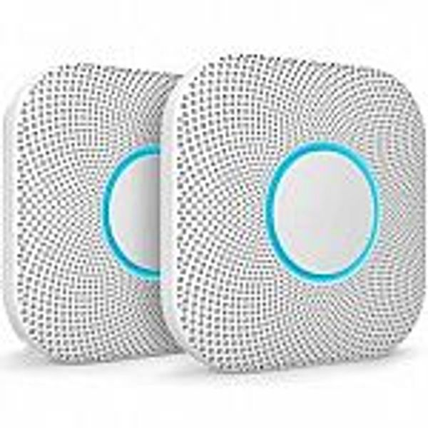 2-Pack Google Nest Protect Smoke Alarm and Carbon Monoxide Detector @Costco