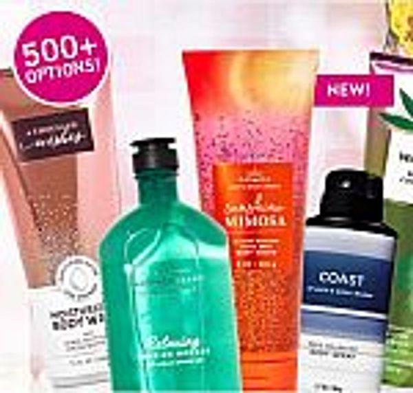 Bath & Body Works Flash Sale: All Body Care