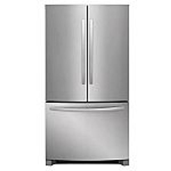 Frigidaire 22.4-cu ft French Door Refrigerator w/ Ice Maker @Lowes