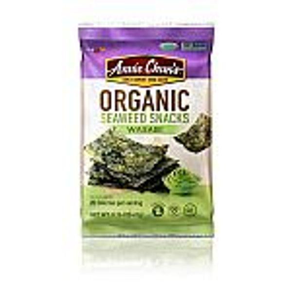 12-Count 0.16-Oz Annie Chun's Organic Seaweed (Wasabi)