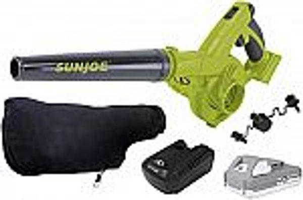 Sun Joe Cordless Rechargeable Multi-Purpose Blower Kit