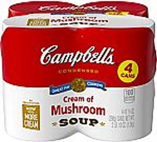 4-Count 10.5-Oz Campbell's Cream of Mushroom Soup