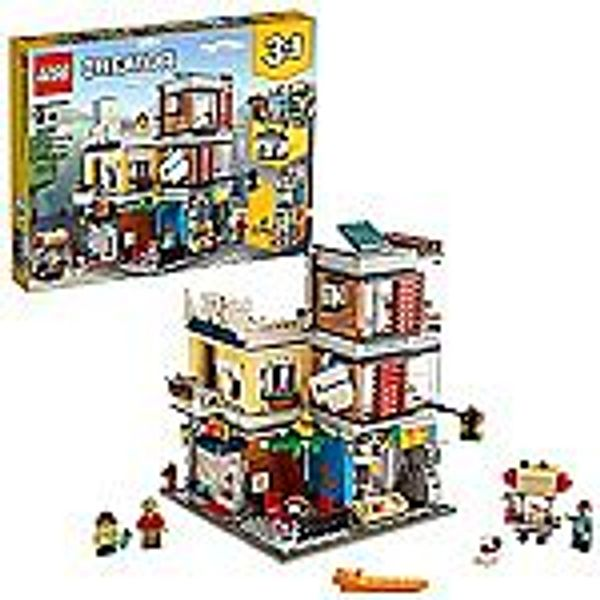 LEGO Creator 3 in 1 Townhouse Pet Shop & Café 31097 Toy Store