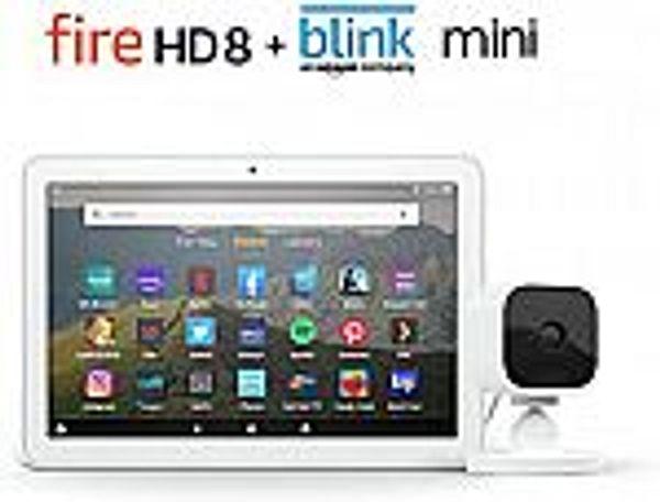 Fire HD 8 Tablet 32 GB + Blink Mini Camera @Amazon