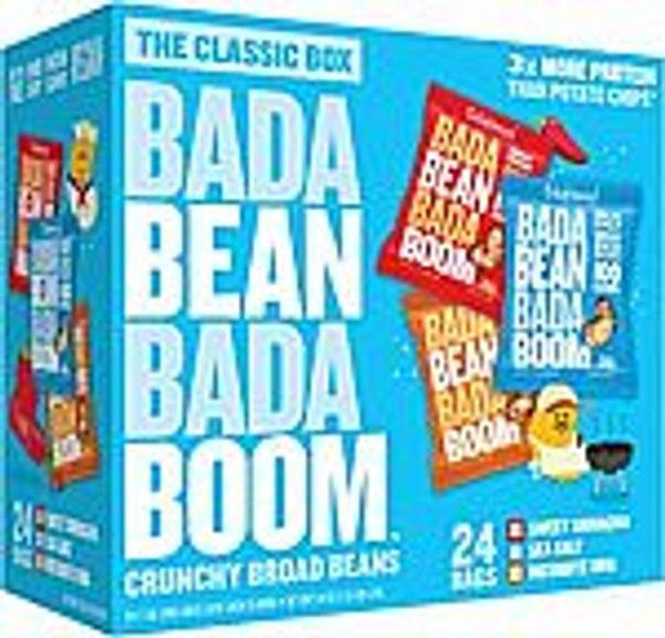24-Ct  Bada Bean Bada Boom Bean Snacks @Amazon