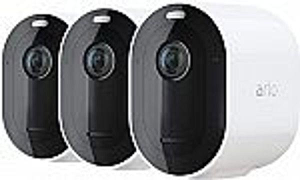 3-Pack Arlo Pro 4 Spotlight Camera (No Hub Needed) @Amazon