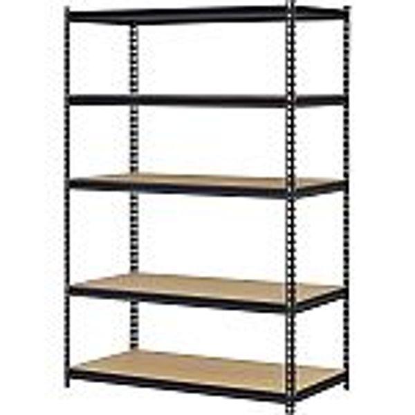 """Muscle Rack 72"""" x 48"""" x 18"""" 5-Shelf Steel Shelf Unit @Walmart"""
