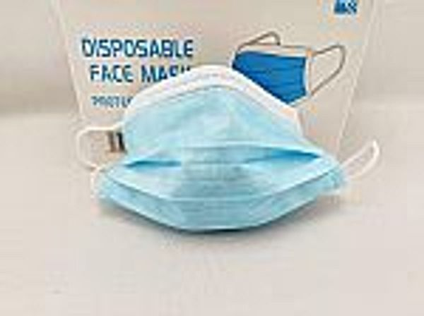 100-Pk HY Disposable Face Mask (3 Ply)