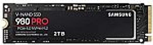Samsung 980 Pro 2TB PCIe NVMe Gen4 Internal Gaming SSD M.2 (MZ-V8P2T0B/AM) @Amazon