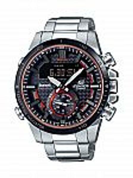 Casio ECB900DB-1ACF Edifice Men's Solar-Powered Bluetooth Mobile Link Watch