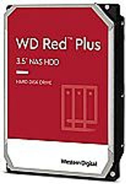 Western Digital 12TB WD Red Plus NAS Internal Hard Drive HDD WD120EFBX