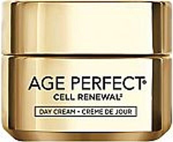 1.7-Oz L'Oreal Paris Age Perfect Cell Renewal Skin Renewing Day Cream @Amazon