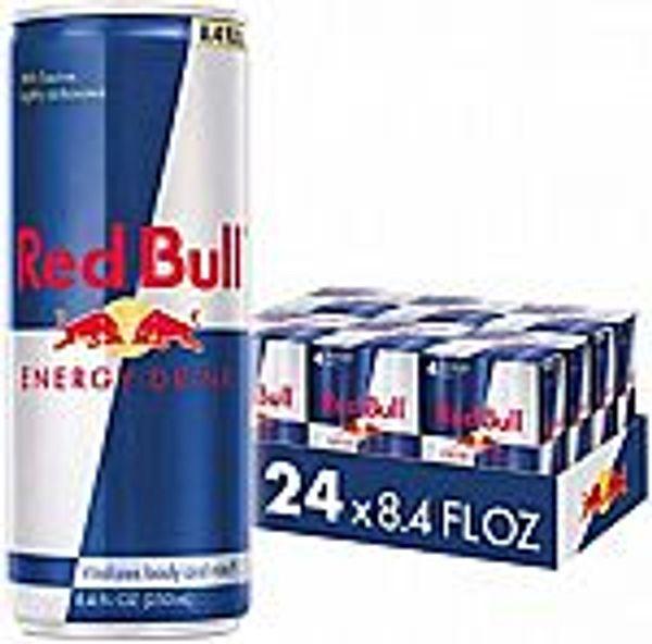 24-Pack 8.4-Oz Red Bull Energy Drinks