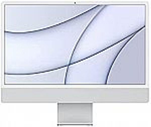 2021 Apple iMac (24-inch, Apple M1 chip with 8‑core CPU and 8‑core GPU, 8GB RAM, 256GB) - Silver