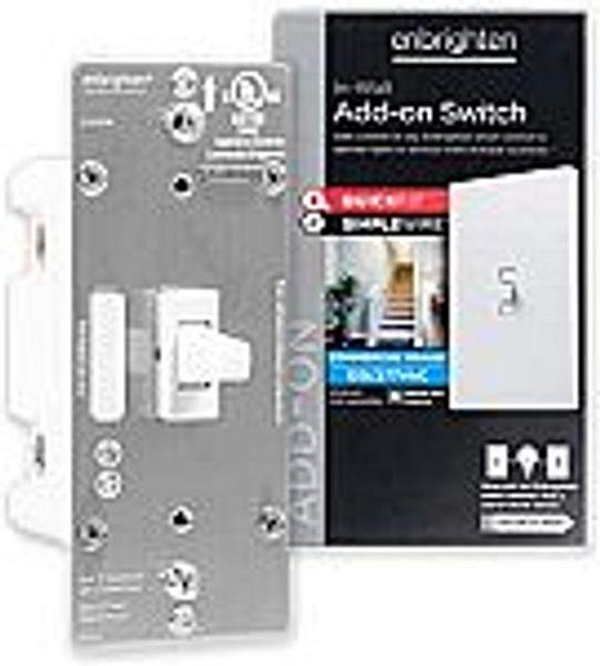 GE Enbrighten 46200 Add-On Switch (Z-Wave ZigBee Wireless Smart Lighting Controls) @amazon