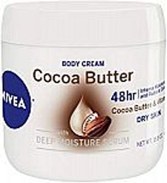 NIVEA Cocoa Butter Body Cream 15.5 Oz @Amazon