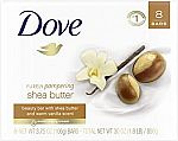 8-Ct 3.75-oz Dove Purely Pampering Beauty Bar (Shea Butter)
