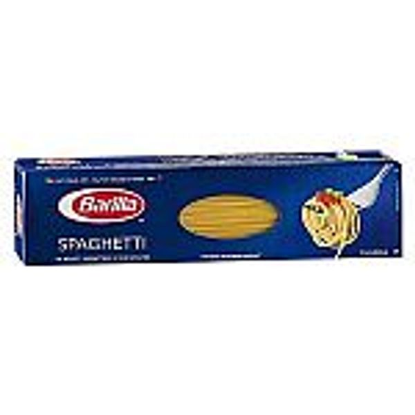 2 x 16 oz Barilla Spaghetti $1.60, Prego Italian Sauce Traditional 24oz