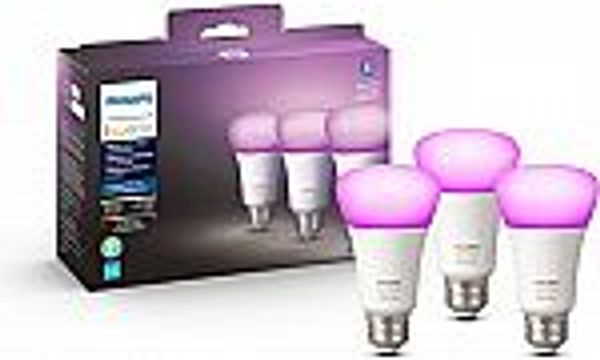 3-Pack Philips Hue White and Color Ambiance