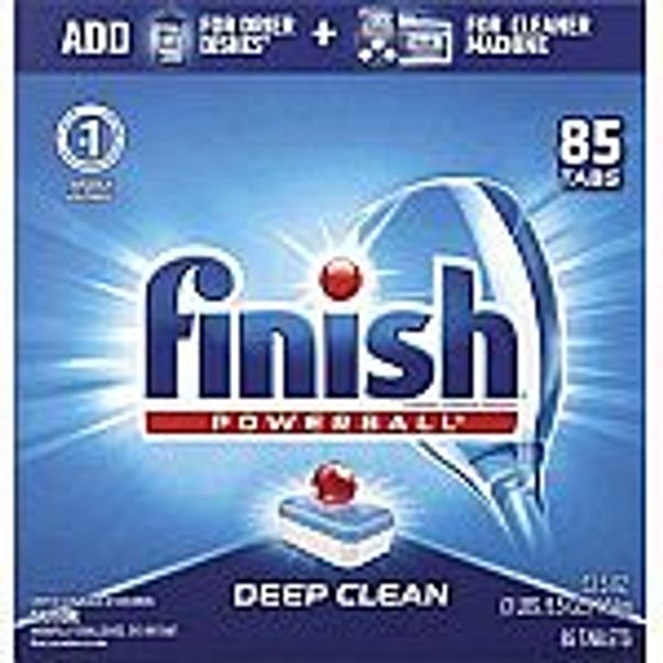 Finish Powerball Dishwasher Detergent Tablets 85-Count