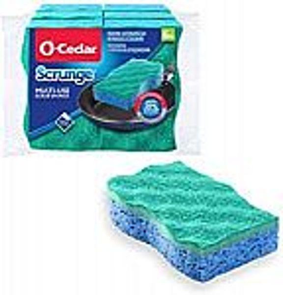 6-Pack O-Cedar Scrunge Multi-Use Scrubbing Sponge @Amazon