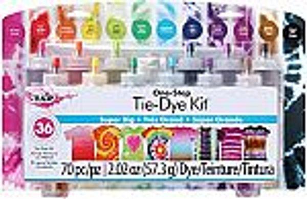 Tulip One-Step Tie-Dye Kit Super Big 12 Colors @Amazon