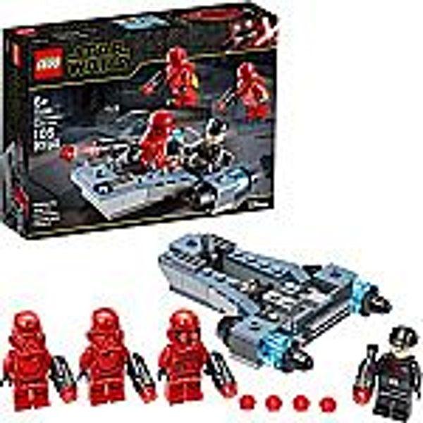 LEGO Star Wars Sith Troopers Battle Pack 75266 Stormtrooper Speeder Vehicle Building Kit (105 Pieces)