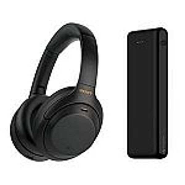 Sony WH-1000XM4 Wireless Noise Canceling Headphones + Mophie 20800mAh Power Bank
