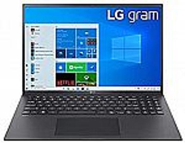 "LG Gram Thin & Light Laptop (16"" IPS WQXGA 2560x1600, i7-1165G7, 16GB, 256GB SSD, 22 Hour Battery, 16Z90P-K.AAB6U1)"