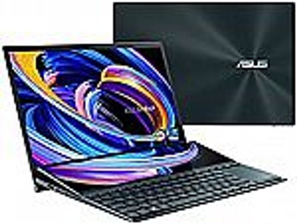 """ASUS ZenBook Pro Duo 15 OLED UX582 15.6"""" OLED 4K UHD Touch Laptop (i9-10980HK, 32GB 1TB SSD RTX 3070, UX582LR-XS94T) @Amazon"""