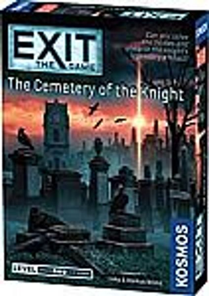 Thames & Kosmos - EXIT: The Cemetery of The Knight, Escape Room Board Game