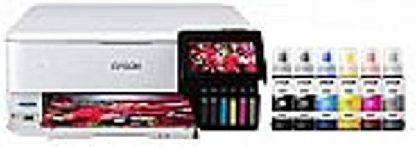 Epson EcoTank Photo ET-8500 Wireless Wide-Format Color All-in-One Supertank Printer with Scanner, Copier