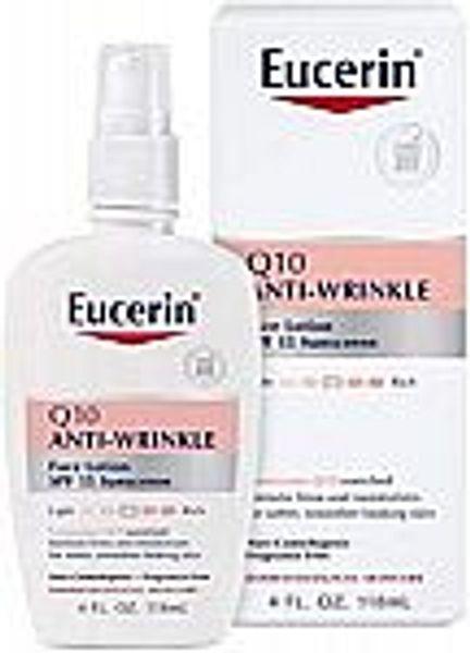 4-oz Eucerin Q10 Anti-Wrinkle Face Lotion (SPF 15)