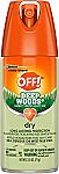 OFF! Deep Woods Dry Aerosol 2.5 Ounce