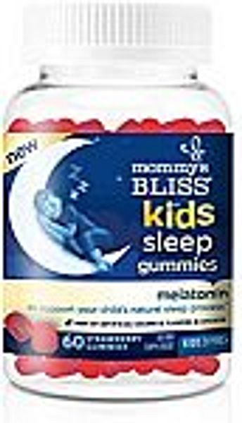 60-Ct Mommy's Bliss Kids Sleep Gummies with Melatonin (Ages 3+)