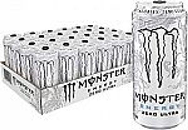 24-Pack 16-Oz Monster Energy Drink (Zero Ultra)