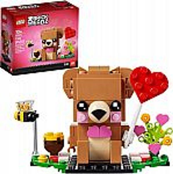LEGO BrickHeadz Valentine's Bear Building Kit
