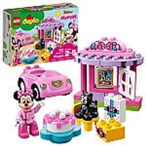 21-Pc LEGO DUPLO Disney's Minnie's Birthday Party Building Blocks