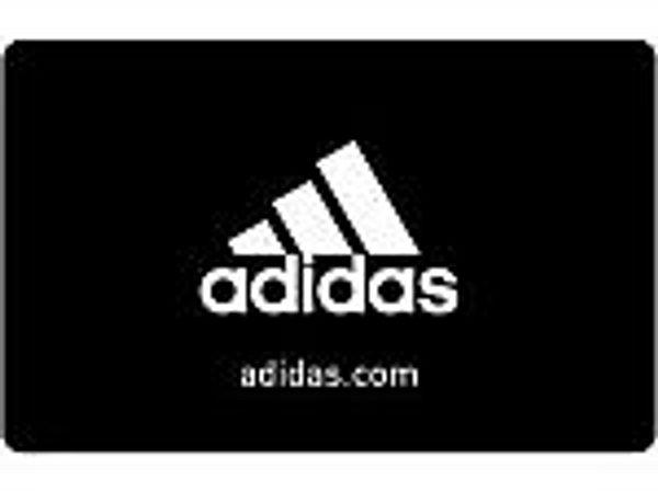 $50 adidas Gift Card + $15 bonus card