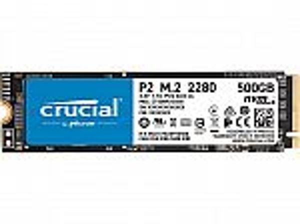 Crucial P2 500GB 3D NAND M.2 SSD
