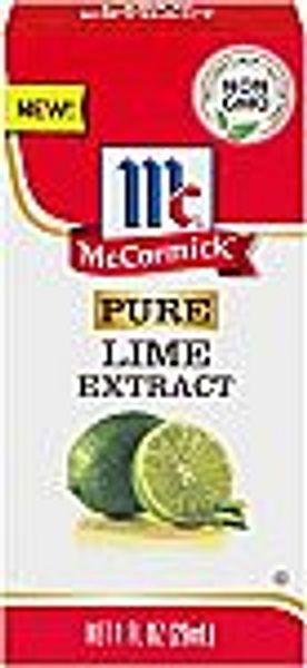 McCormick 1 Oz Pure Lime Extract