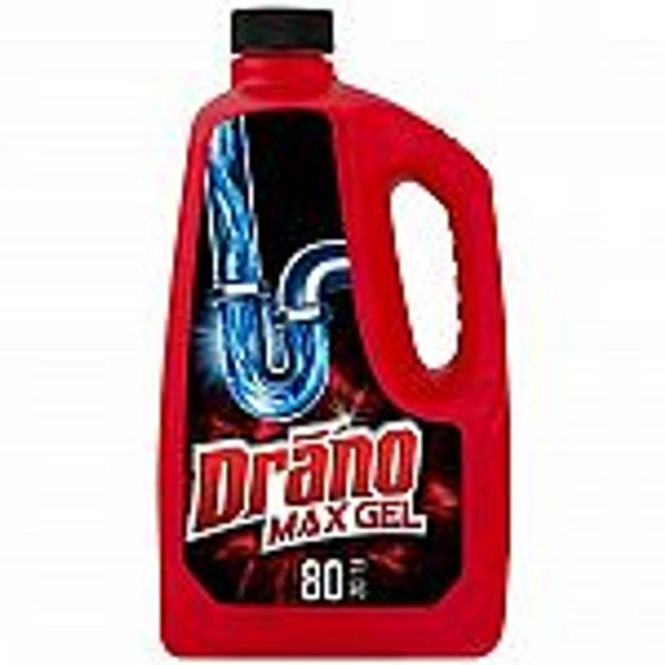 80-Oz Drano Max Gel Drain Clog Remover and Cleaner