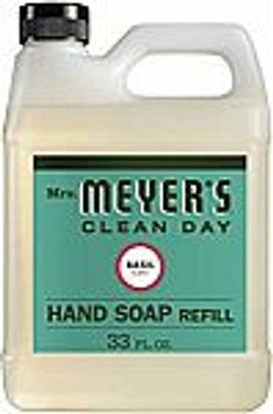 33-oz Mrs. Meyer's Clean Day Liquid Hand Soap Refill (Basil)