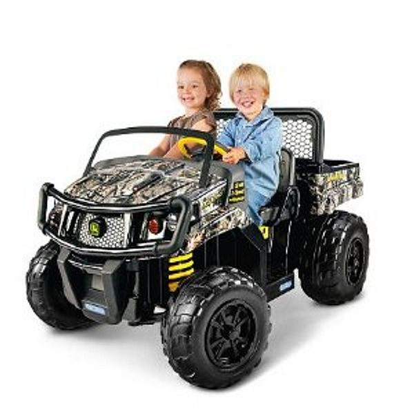 Peg Perego John Deere Gator XUV 12 Volt Ride On - Camo $248