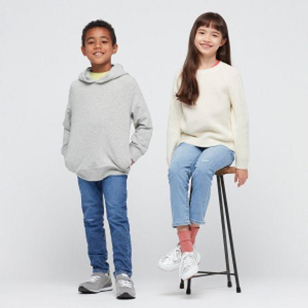 Uniqlo Kids Ultra Stretch Denim Pull-on Slim Fit Pants                       $14.90
